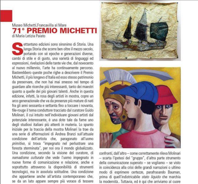 71 Premio Michetti di Maria Letizia Paiato