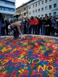 Urban Rainbow al Museo Michetti
